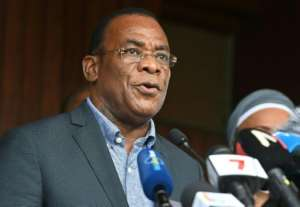 Opposition leader Pascal Affi N'Guessan rejected Saturday's election and called for a