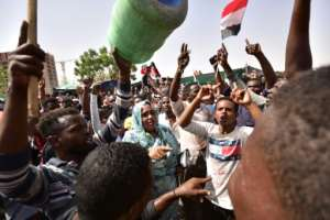 Organisers of protests for the ouster of Sudanese president Omar al-Bashir rejected his toppling by the army Thursday as a