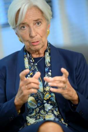 Outgoing IMF Managing Director Christine Lagarde visited Africa every year during her tenure.  By Eric BARADAT (AFP)
