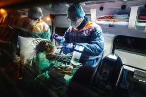 Oxygen supply is an integral part of well-funded health systems.  By Lucas BARIOULET (AFP/File)
