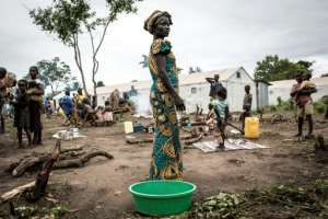 Parts of South Sudan -- pictured here in 2019 in a refugee camp -- are suffering famine-like deprivation, according to the World Food Programme.  By JOHN WESSELS (AFP)