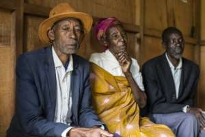Pascal Shyirahwamaboko (R), 68, next to his wife Rose, 72, both Hutus, says he finally got up the courage to ask forgiveness for his