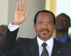 Paul Biya, Cameroon's 85-year-old president, has been sworn in for a seventh term in office.  By ISSOUF SANOGO (AFP/File)