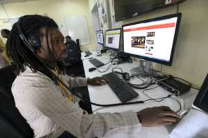 Pidgin has a powerful and growing cultural influence -- the BBC has started a Pidgin radio and news website. By Pius Utomi EKPEI (AFP/File)