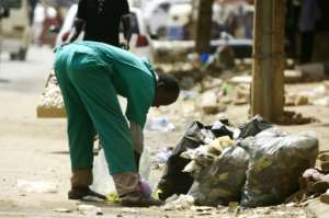 Piles of rubbish have been left in the streets and sewerage has seeped out of sewers, as thousands participated in the latest phase of the protest movement.  By - (AFP)