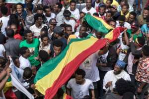 Political rallies of Saturday's scale are rare in Ethiopia, where the ruling EPRDF controls all seats in parliament and opposition parties complain of harassment.  By Yonas TADESSE (AFP)