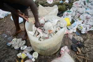 Plastic bags have become an environmental curse -- Burundi is the latest country to crack down on their use.  By SIMON MAINA (AFP)