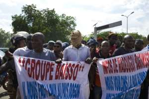 Protest: Mali's mounting security problems are spurring public anger.  By MICHELE CATTANI (AFP)