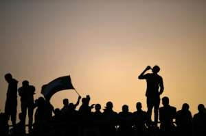 Protesters have kept up their sit-in outside army headquarters in the capital Khartoum. By OZAN KOSE (AFP/File)
