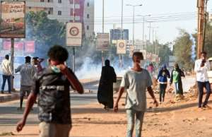 Protesters take to the streets of Khartoum, where officials hope the end of the US designation of Sudan as a state sponsor of terrorism will provide a needed economic boost.  By Ebrahim HAMID (AFP)
