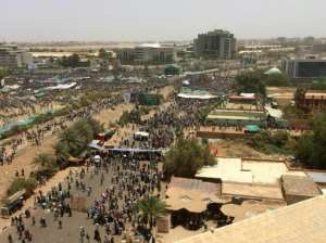 Protestors vowed to keep up demonstrations, wanting to sweep the whole of the old Sudanese regime aside.  By - (AFP)