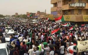 Protests first broke out against Sudanese dictator Omar al-Bashir's three decade rule in December after the government tripled the price of bread.  By - (AFP)