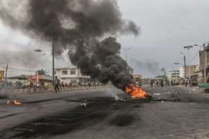 Protests rocked Benin following the parliamentary vote in April that saw parties allied to Talon win all the seats as opposition groups were effectively banned.  By Yanick Folly (AFP)
