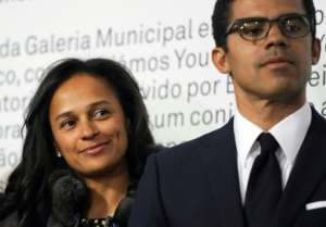 Prosecutors have already frozen the bank accounts and holdings owned by dos Santos and her Congolese husband Sindika Dokolo.  By FERNANDO VELUDO (PUBLICO/AFP/File)