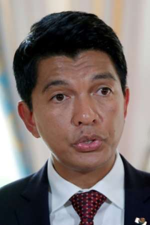 President Andry Rajoelina has dangled the promise of a five-for-one land swap for farmers who sign up to the deal.  By CHARLES PLATIAU (X00217/AFP)