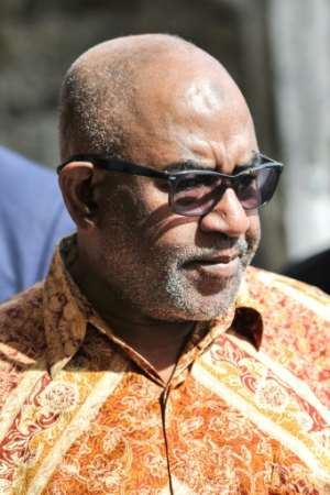 President Assoumani won a July referendum allowing him to scrap the rotation of the presidency between Comoros' three main islands after one term, disadvantaging opposition-leaning Anjouan, which was next in line.  By TONY KARUMBA (AFP)