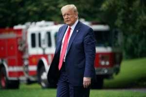 President Donald Trump said the US economy was