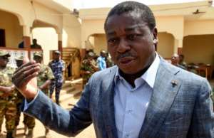 President Faure Gnassingbe, whose family has ruled Togo since 1967, is the frontrunner.  By PIUS UTOMI EKPEI (AFP)