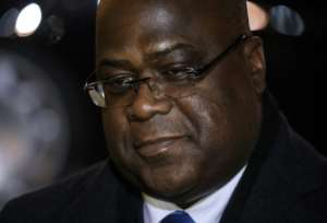 President Felix Tshisekedi, elected 15 months ago on a platform of change, faces a mountainous challenge in the form of the coronavirus pandemic.  By LUDOVIC MARIN (AFP)