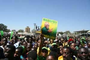 President John Magufuli intially inspired with a crackdown on corruption but has since taken an authoritarian turn.  By ERICKY BONIPHACE (AFP/File)