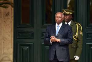 President Jose Eduardo Dos Santos has been a looming presence in daily life for as long as most Angolans can remember.  By ALAIN JOCARD (AFP)