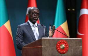 President Patrice Talon was himself forced into exile between 2012 and 2015 when Boni Yayi was president.  By ADEM ALTAN (AFP)