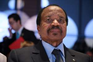 President Paul Biya spoke out about coronavirus more than two months after Cameroon recorded its first case.  By Ludovic MARIN (AFP/File)