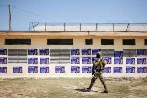 President Paul Biya will seek a seventh term at polls on Sunday.  By ALEXIS HUGUET (AFP)