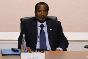 President Paul Biya, 85, has been head of state for 35 years. He has sternly rejected independence or a federal status for the two anglophone regions.  By LUDOVIC MARIN (AFP)