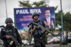 President Paul Biya's government has previously refused to negotiate with the separatist leaders.  By MARCO LONGARI (AFP/File)