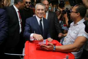 Presidential contender Nabil Karoui only walked free days before the vote having spent more than a month behind bars on suspicion of money-laundering.  By ANIS MILI (AFP)