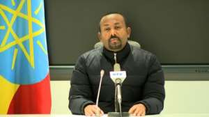 Prime Minister Abiy Ahmed ordered military operations in Tigray after an alleged attack by the region's ruling party on a military camp there.  By - (Ethiopian Public Broadcaster (EBC)/AFP)