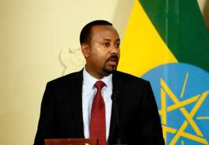 Prime Minister Abiy Ahmed, the 2019 Nobel peace laureate, has won plaudits abroad for his reforms. But domestic critics accuse him of authoritarian tendencies, and the peace process he launched with Eritrea has stalled.  By Phill Magakoe (AFP)