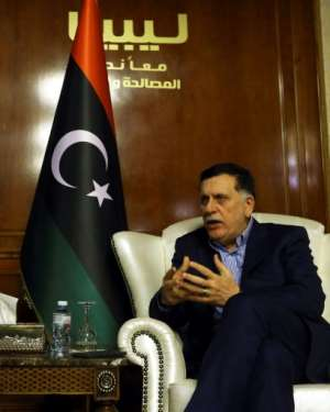 Prime Minister Fayez al-Sarraj leads Libya's internationally recognised Government of National Accord based in Tripoli.  By Mahmud TURKIA (AFP/File)