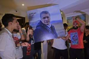 Qalb Tounes, the new party of jailed presidential run-off contender Nabil Karoui, appears to have made a remarkable entry into parliament.  By FETHI BELAID (AFP)