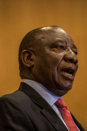 Ramaphosa's long and eventful career has taken him from trade union activist to multi-millionaire and now to within touching distance of the South African presidency