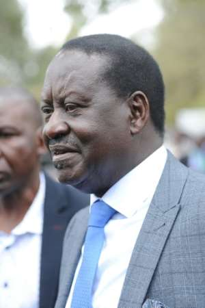 Raila Odinga has tried four times to win the Kenyan presidency.
