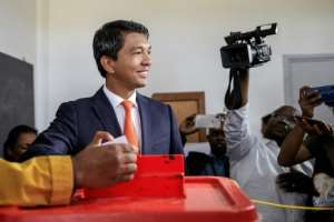 Rajoelina, now 44, was installed by the army and ruled until 2014.  By GIANLUIGI GUERCIA (AFP/File)