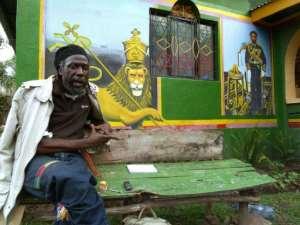 Jamaican Rastafarians believe Ethiopia is their promised land.  By Jenny Vaughan (AFP)