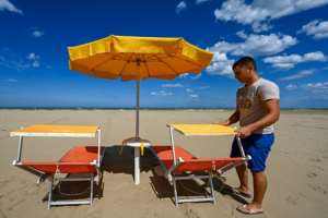 Re-opening continues in earnest across Europe, with officials pushing ahead with plans to restore summer tourism even as fears persist of a second wave of infections.  By Vincenzo PINTO (AFP)