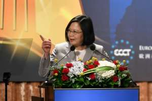 Relations between Taiwan and China have worsened since Beijing-sceptic Tsai came to power.  By SAM YEH (AFP/File)
