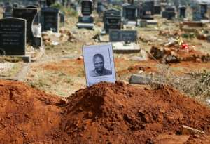 Richard Motsoahae was one of four members of the Pan Africanist Congress (PAC) executed by the apartheid regime for their role in killing a policeman. By Phill Magakoe (AFP/File)