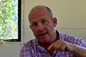 Richard Vigne, Ol-Pejeta chief executive, says the site