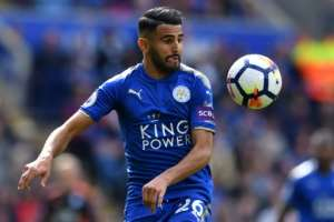 Riyad Mahrez could make a dramatic return for Leicester City against Manchester City on Saturday after ending his self-imposed exile and returning to training.  By Ben STANSALL (AFP/File)