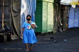 Roughly one billion people around the world are enduring quarantines.  By Marvin RECINOS (AFP)