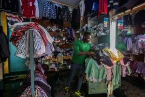 Rwanda blames used clothing -- which mainly comes from the US -- for undermining the development of its local textile industry.  By Jacques NKINZINGABO (AFP/File)