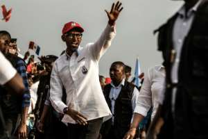 Rusesabagina has accused Rwandan President Paul Kagame, pictured, of authoritarianism and anti-Hutu sentiment.  By MARCO LONGARI (AFP/File)