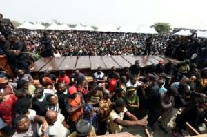 Scores of people were killed in herder-farmer clashes in Benue State last month -- a mass funeral was held in the state capital, Makurdi