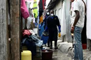 Sanergy, an enterprise trying to improve sanitation in the Nairobi slum of Mukuru, says the waste is collected and taken to be recycled into fertilisers.  By SIMON MAINA (AFP)