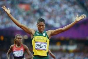 South African Caster Semenya.  By Olivier Morin (AFP)